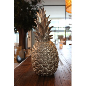 Pineapple Lamp Silver