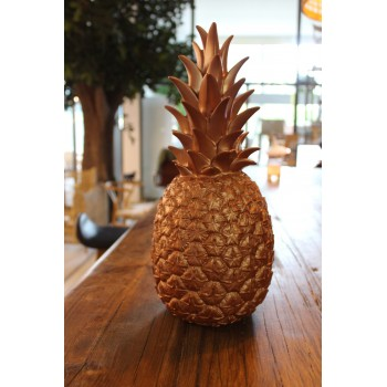 Pineapple Lamp Copper