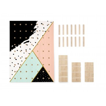 Pegboard Quarz Geometric