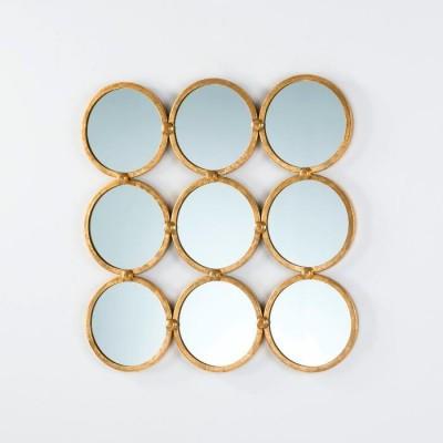 Espejo Metal Gold