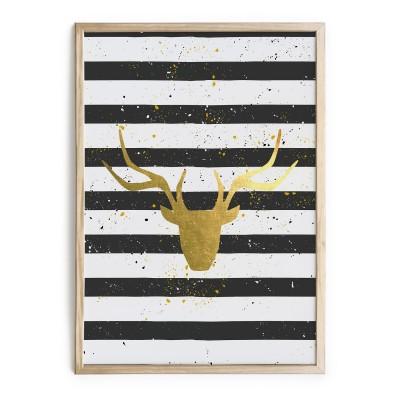 Cuadro Dorado Deer