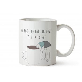 Taza Fall in Coffee