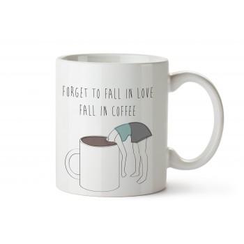 Taza Fall in Coffee