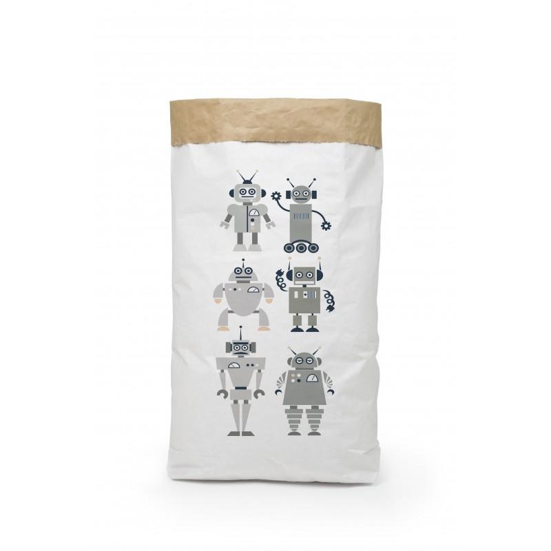 Organize Sack Robots