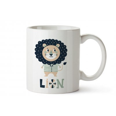Decorated Mug Little Lion Circus
