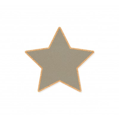 Corcho Cool Grey Star