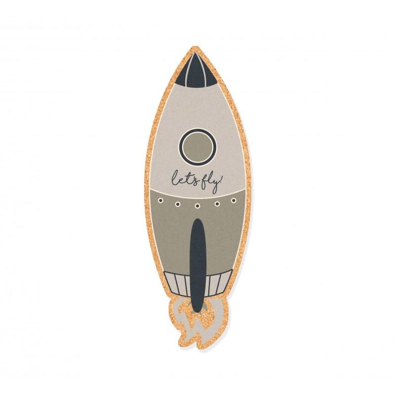 Wall Cork Rocket