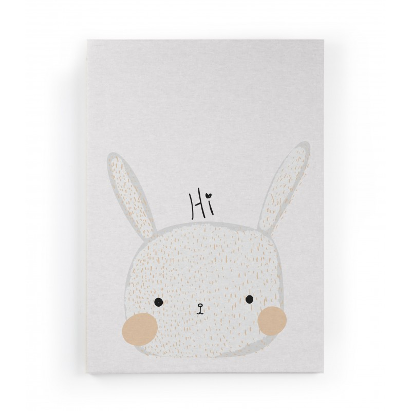 Lienzo Hi Rabbit