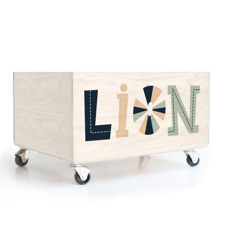 Cajón Lion