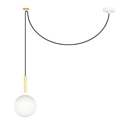 White Fitz Lamp