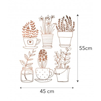 Vinyl Sticker Plants
