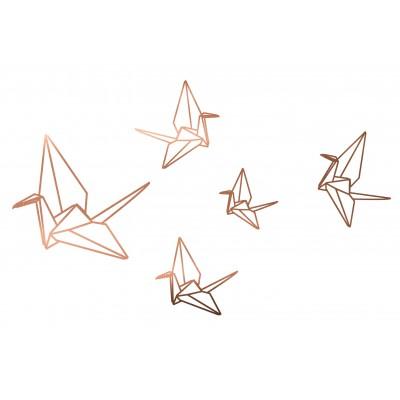 Copper Vinyl Origami