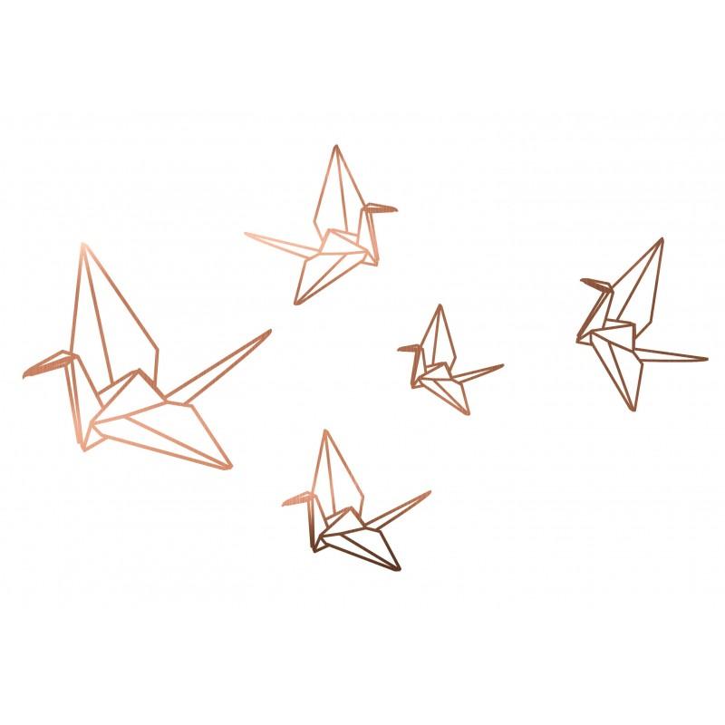 Vinilo Cobre Origami