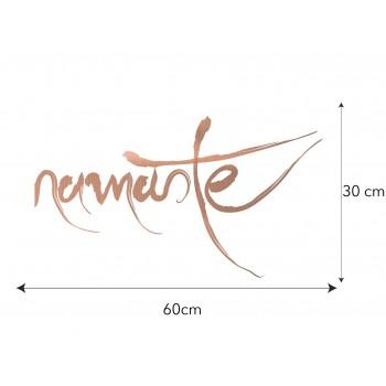 Copper Vinyl Namaste