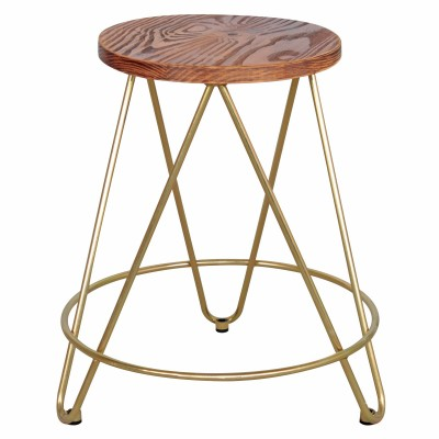 Golden Bushey Stool