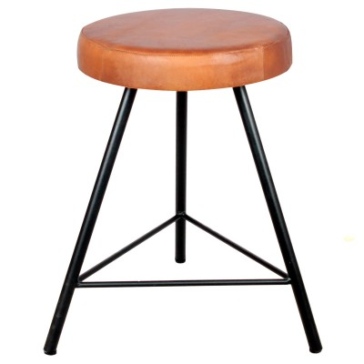 Low Stool Barlow Black
