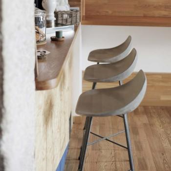 Taburete Concrete Bar
