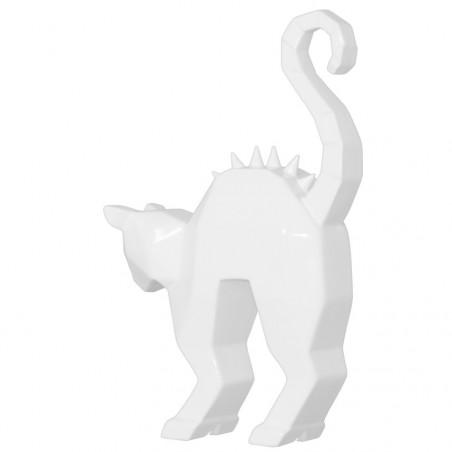 Creepy Cat Statue