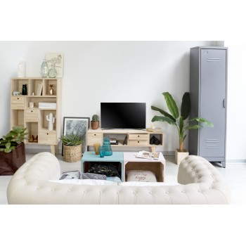 Mueble TV Blanco 120x47