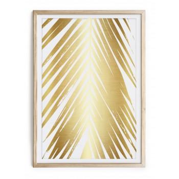 Cuadro Gold Tree Palm