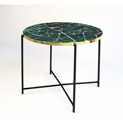 Mesa Crown Gold Green Marble