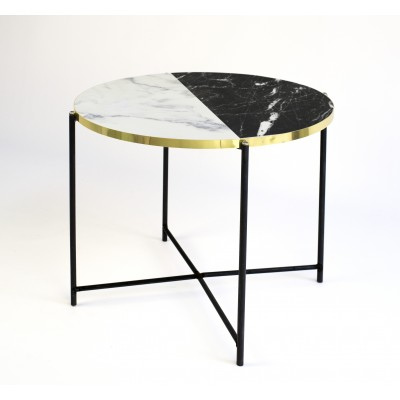 Mesa Crown Black & White Marble