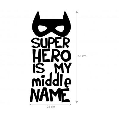 Vinilo Superhero