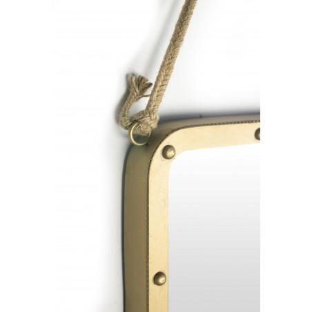 Espejo Metalic Cuadrado