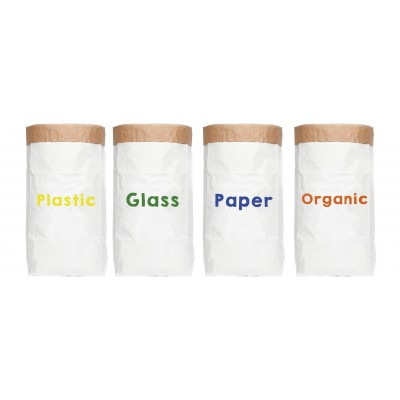 Recycle Paper Sacks Set