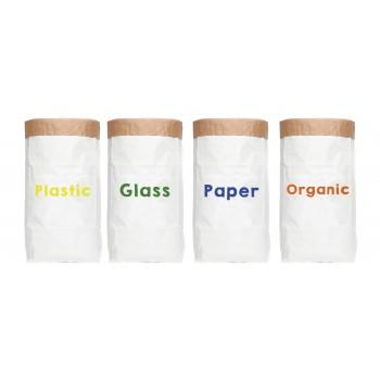 Set de Sacos de Papel Recycle