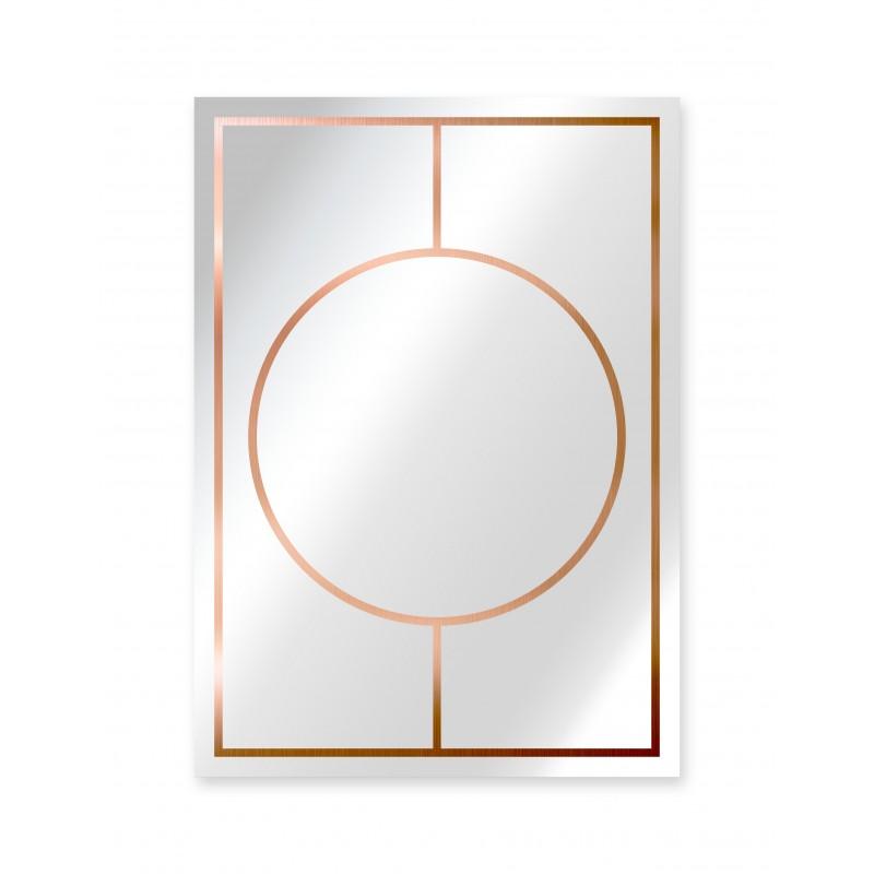 Espejo Decorado Copper