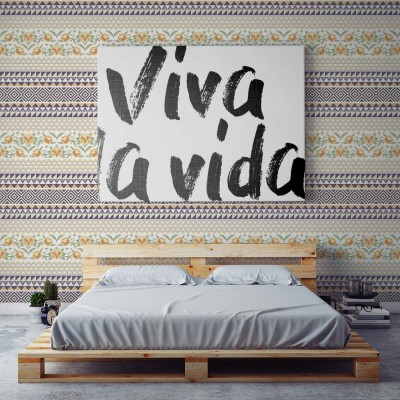 Wallpaper Frida Ikat