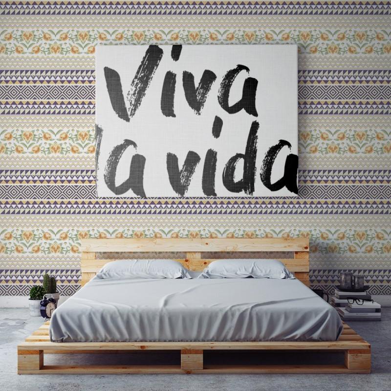 Papel Pintado Frida Ikat