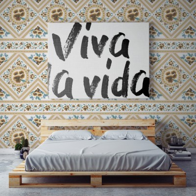 Papel Pintado Frida Golden