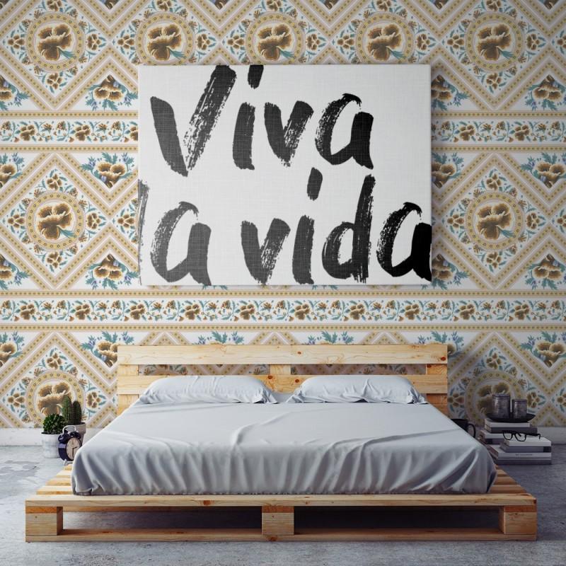 Papel Pintado Frida Golden