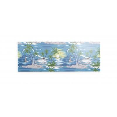 Headboard Blue islands
