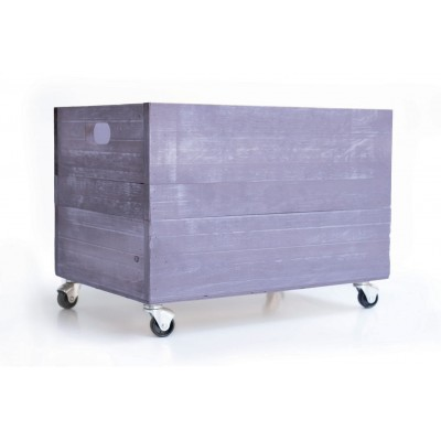 Lavanda Serenity Wood Box 1945 with Wheels