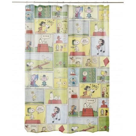 Comic Snoopy Bathroom Curtain
