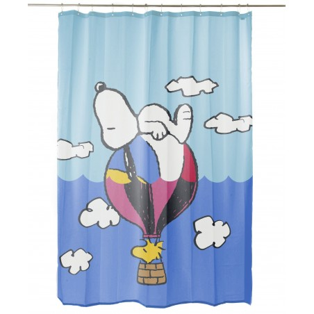 Snoopy Ball Bathroom Curtain