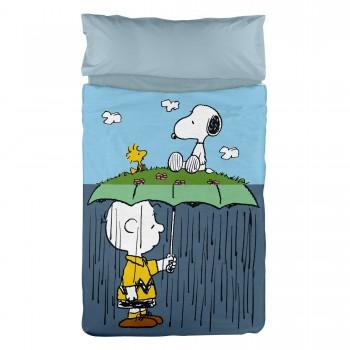Snoopy Rain Duvet Cover