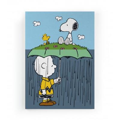 Lienzo Raining