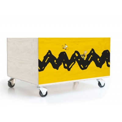 Charlie Brown skate Toy Box