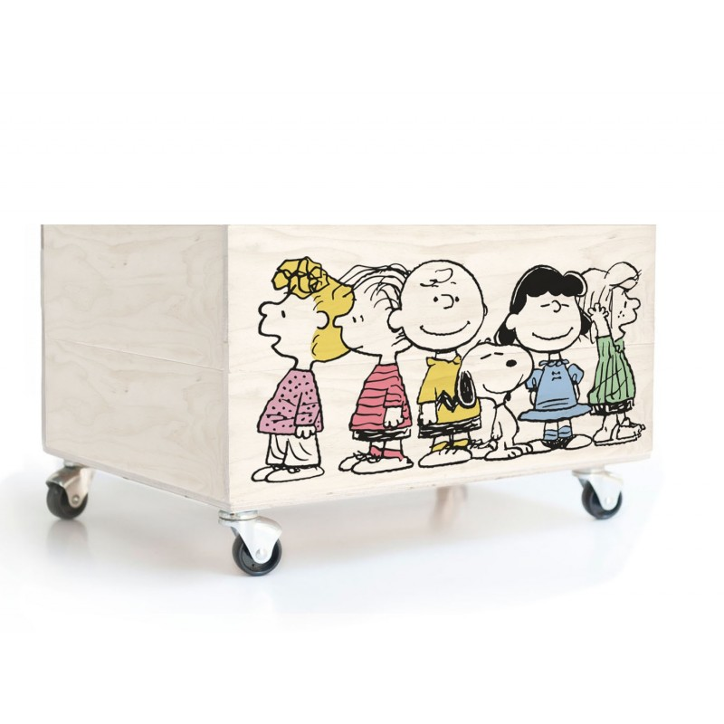 Cajón Decorado Charlie Brown Friends