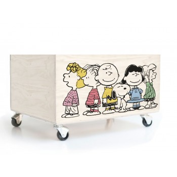 Cajón Decorado Charlie Brown Friends