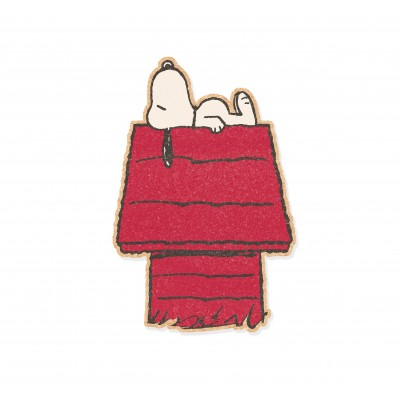 Snoopy sleeps Wall Cork