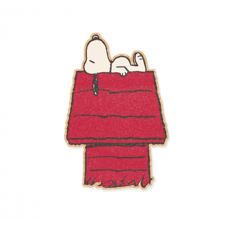 Corcho Pared Snoopy sleeps