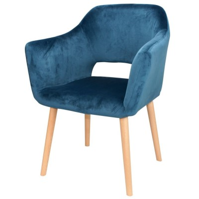 Blue Alesund Chair