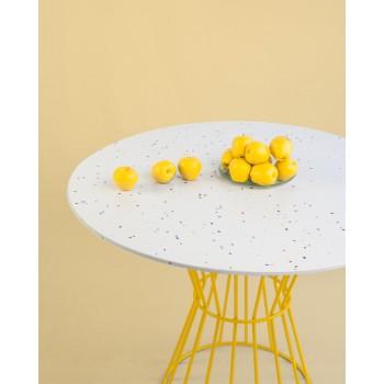 Confetti Table (yellow)