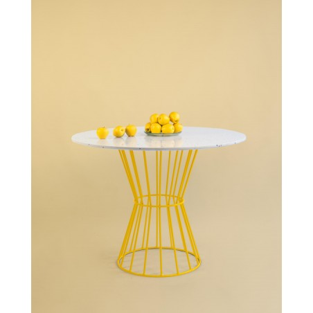 Confetti Table (yellow)