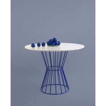 Confetti Table (blue)